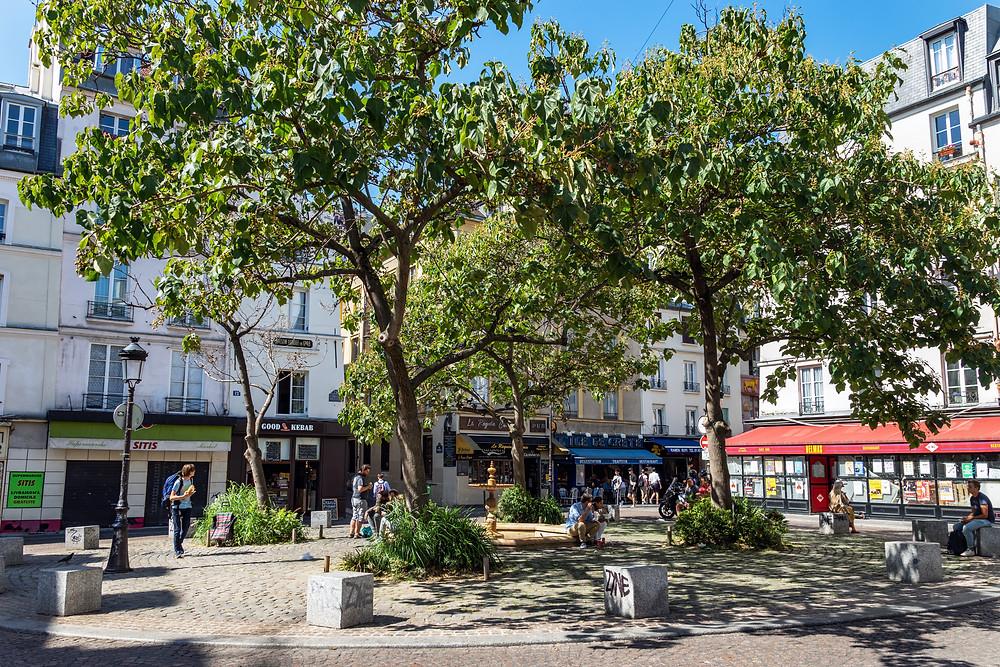 the Place de la Contrescarpe in the Latin Quarter