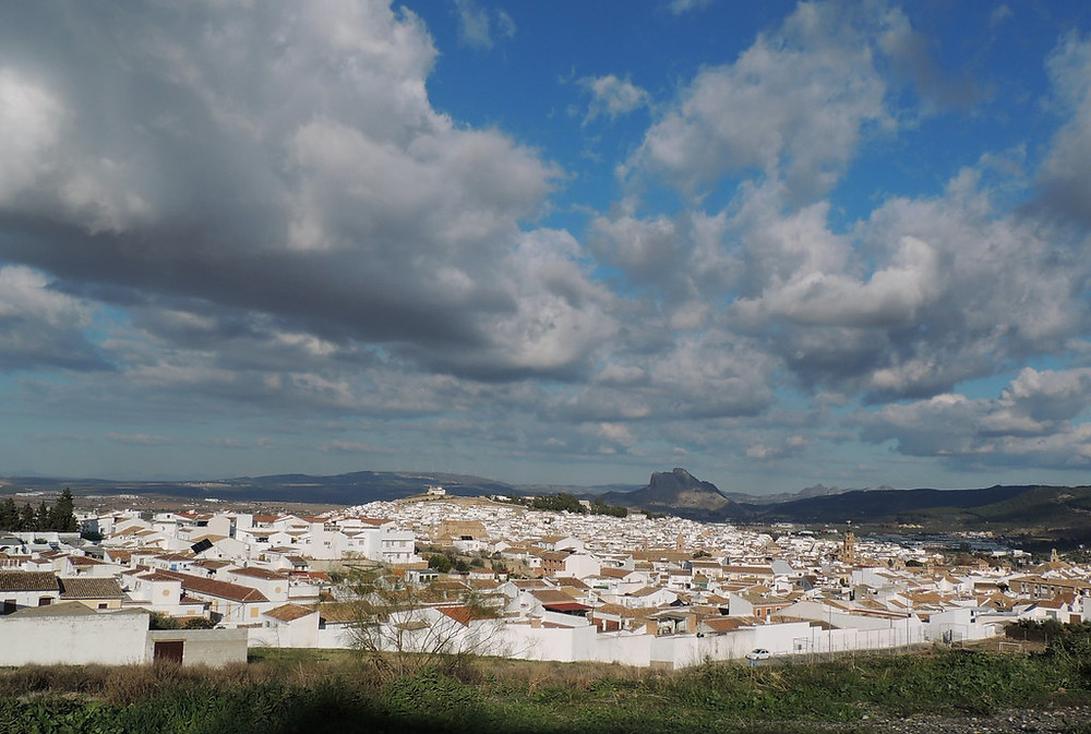 Lover's Rock, lording over the white pueblo town of Antequera