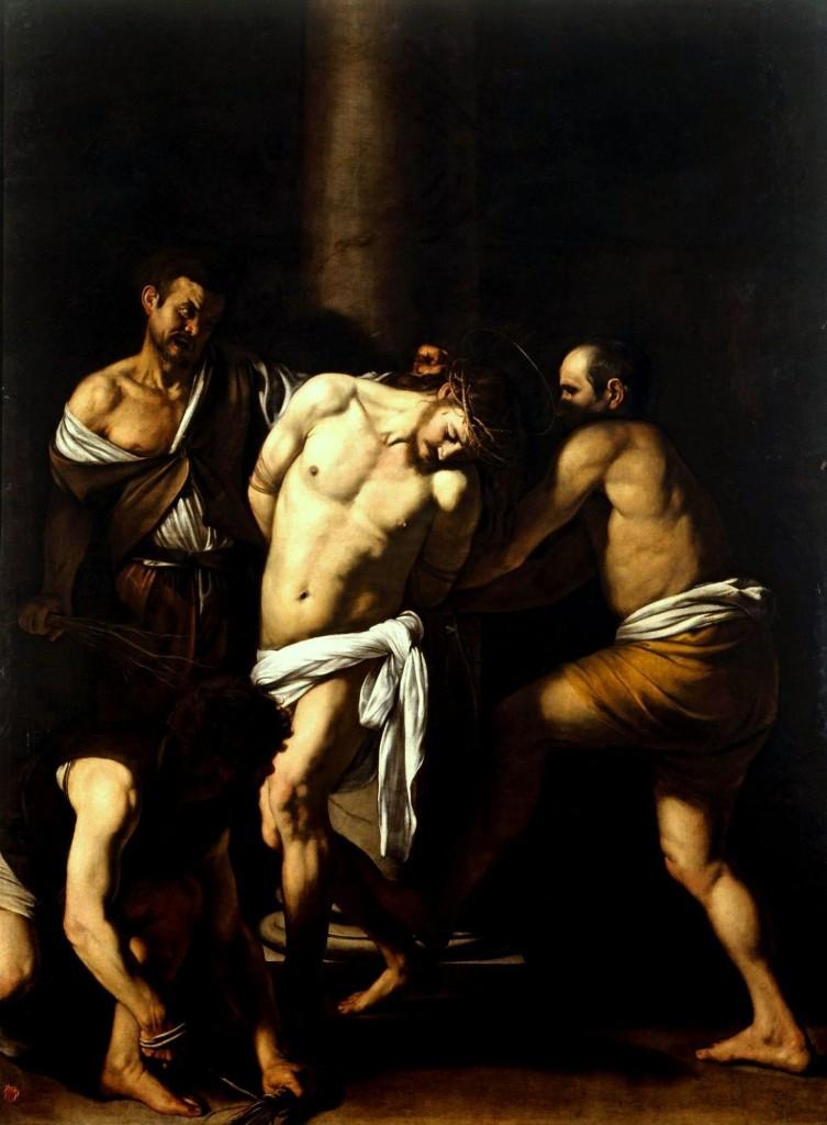 Caravaggio, The Flagellation of Christ, 1607 (in the Capodimonte Museum in Naples)