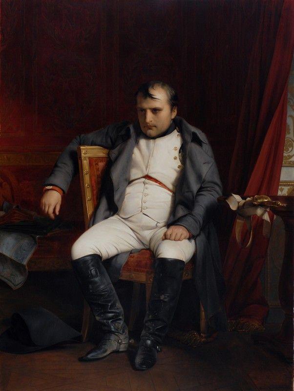 Paul Delaroche, Napoleon at Fontainbleau, 1814