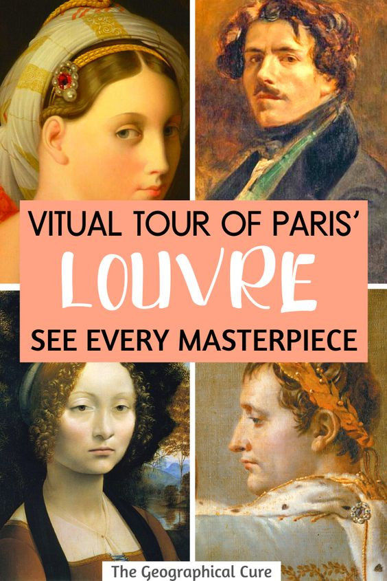 Amazing Virtual Tour of the Louvre, See Every Masterpiece