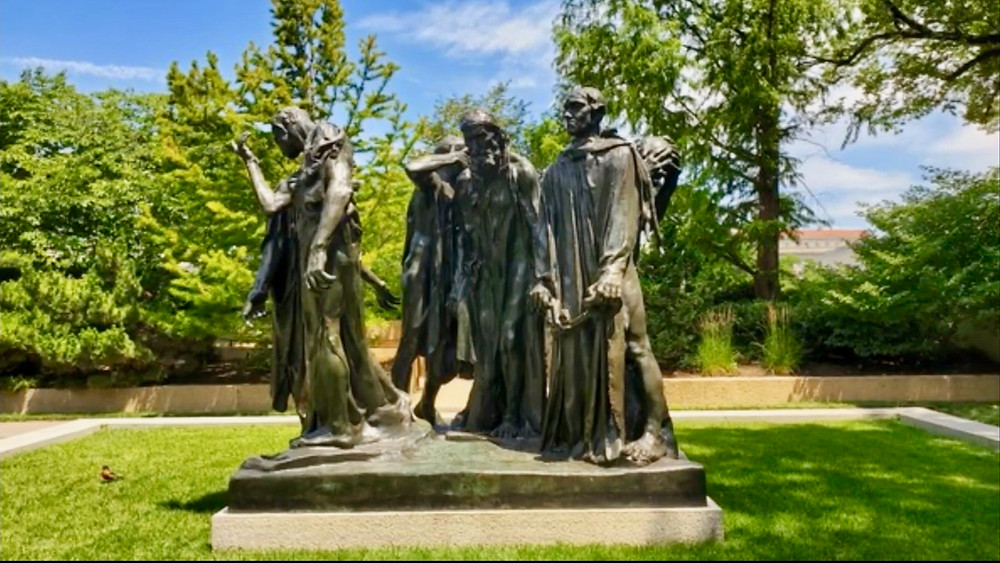 Auguste Rodin, Burghers on Calais, 1889
