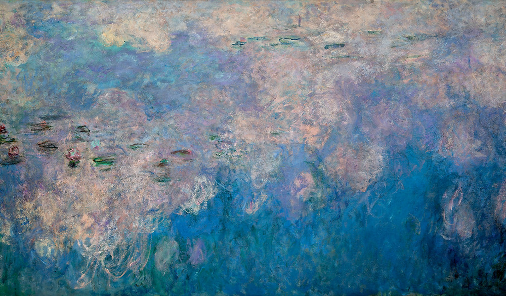 Claude Monet, Detail, The Water Lilies: The Clouds