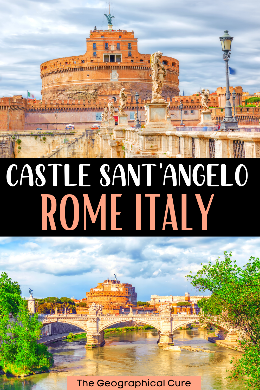 ultimate guide to the Castle Sant'Angelo, a must see landmark in Rome Italy