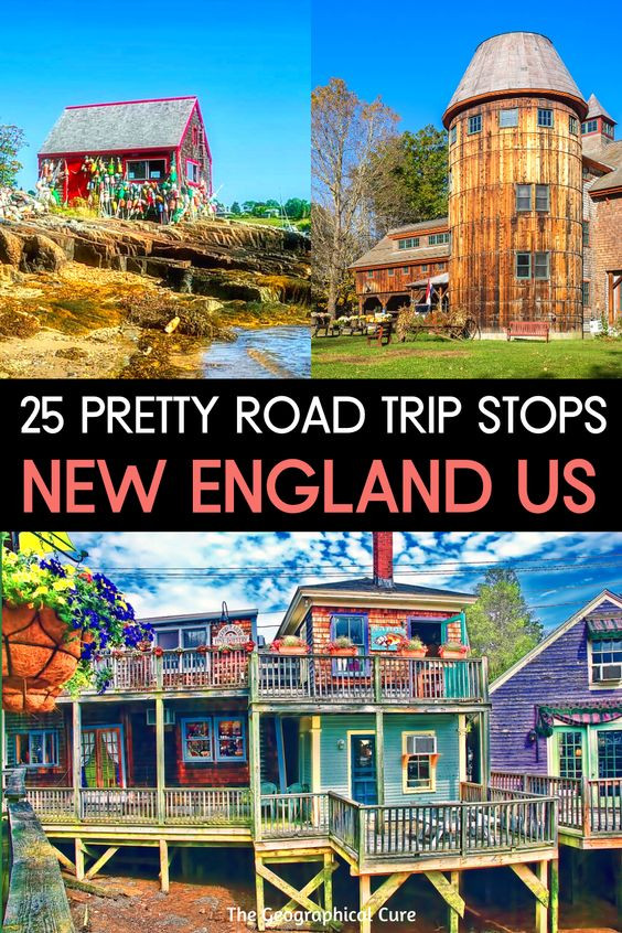 guide to 25 of the most beautiful towns in New England