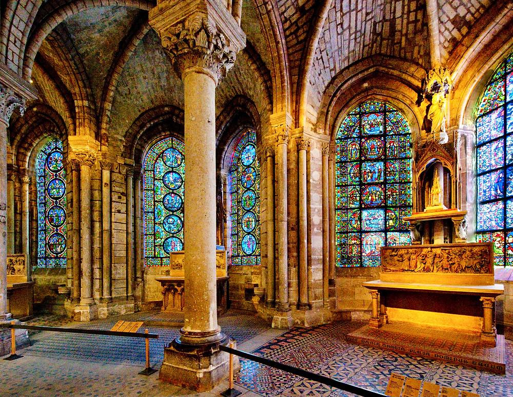 interior of Saint-Denis