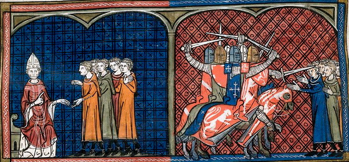 the Albigensian crusades against the Cathars