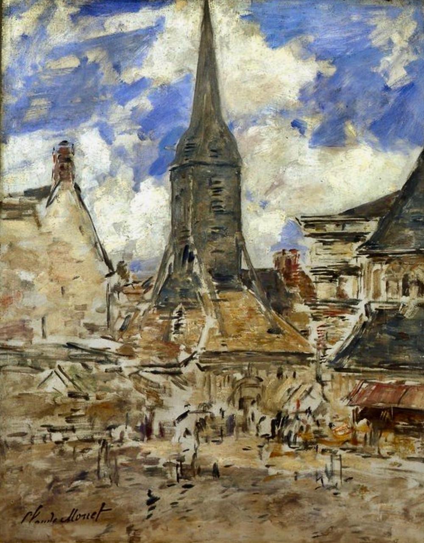 Claude Monet, Chapel Notre-Dame de Grace at Honfleur, 1864