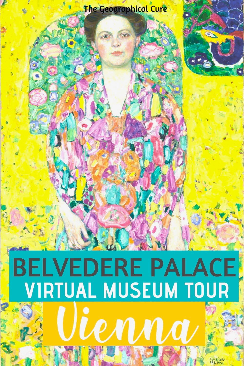 guide to the Belvedere Palace museum in Vienna Austria