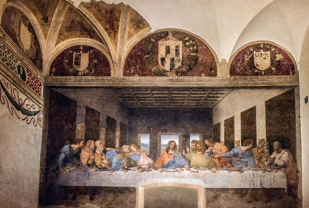Leonardo do Vinci, The Last Supper, 1498