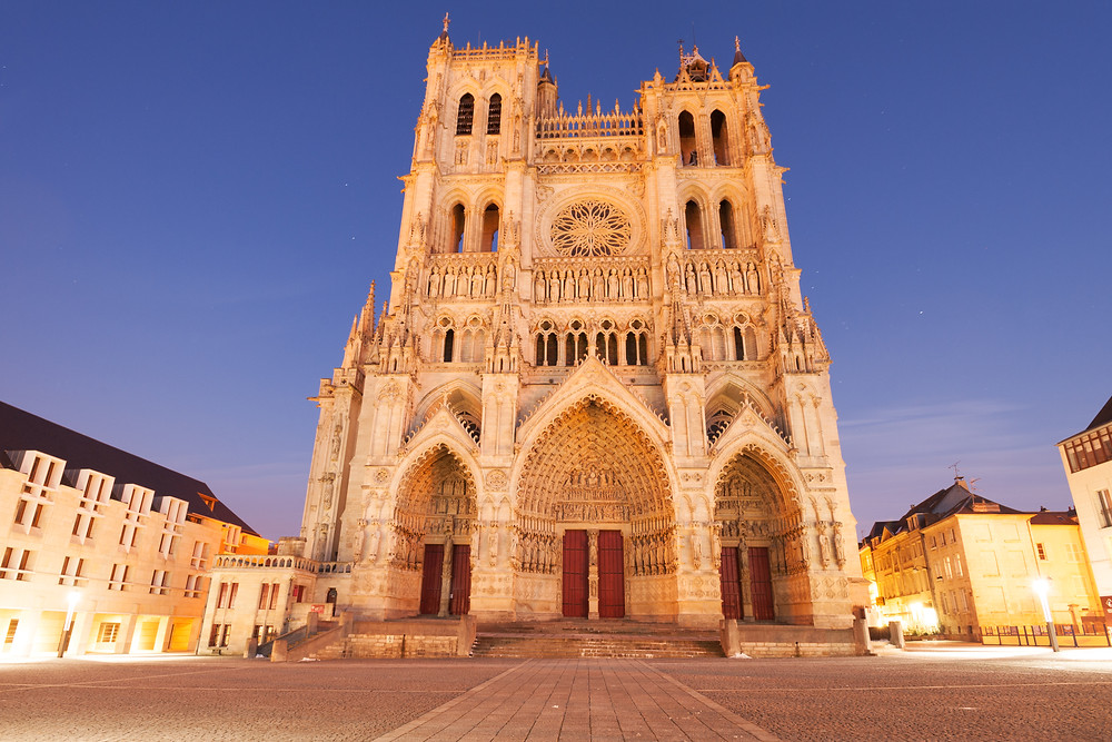 Amiens Cathedral, the largest cathedral in France