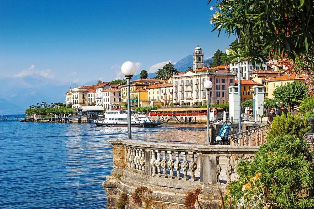 the pretty town of Bellagio on Lake Como