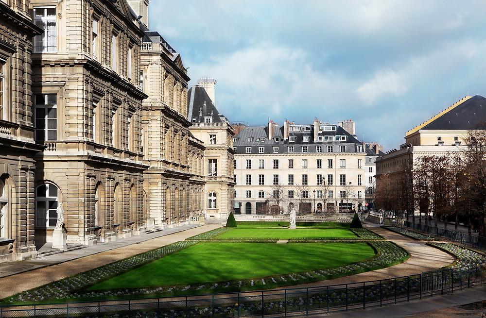 Luxembourg Gardens in Paris' Latin Quarter