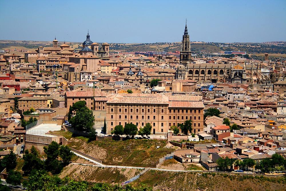 cityscape of Toledo