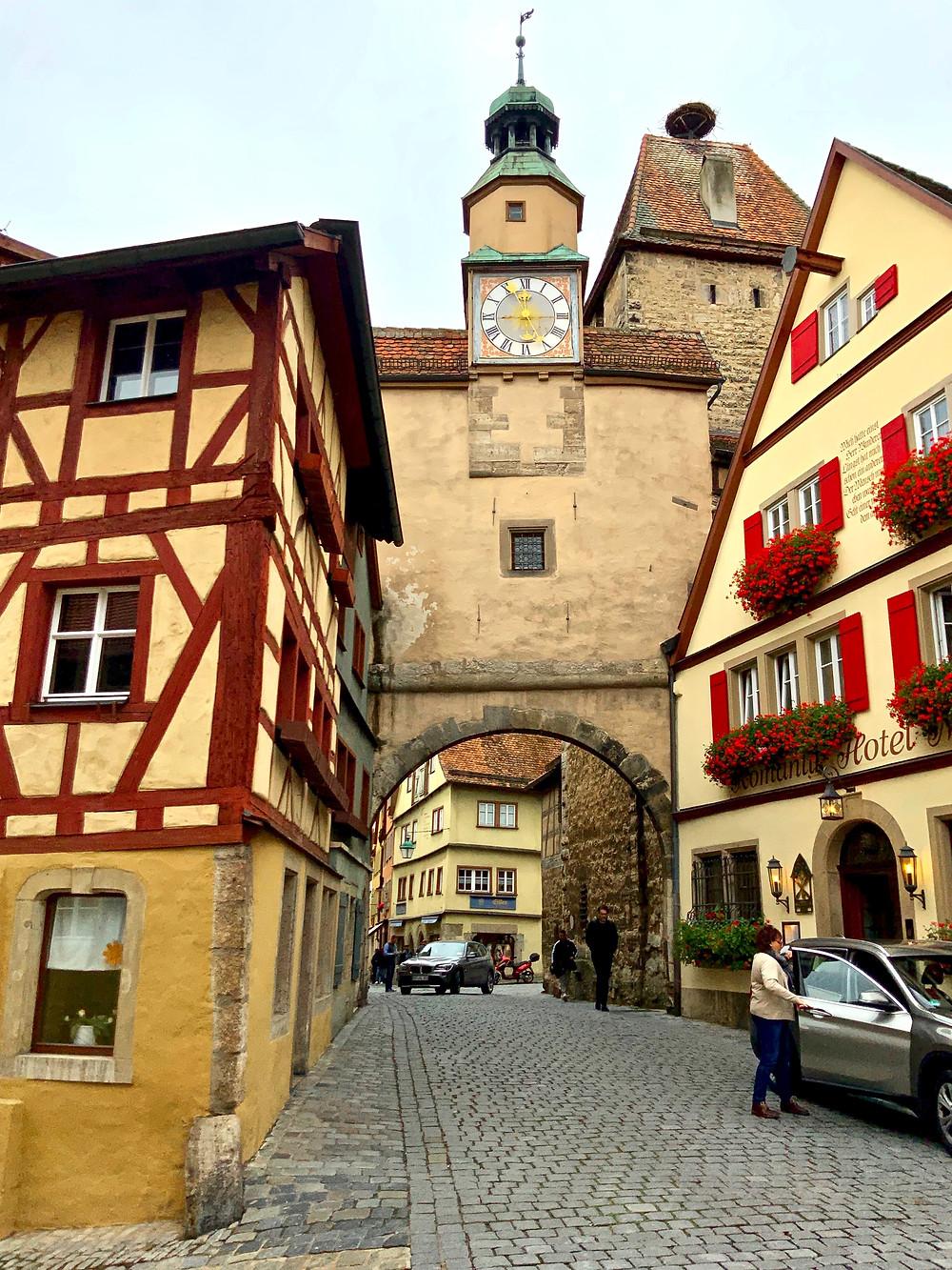 Markustrum Tower in Rothenburg ob der Tauber