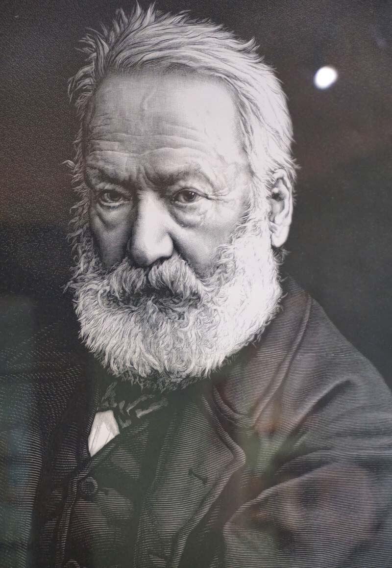 photograph of Victor Hugo