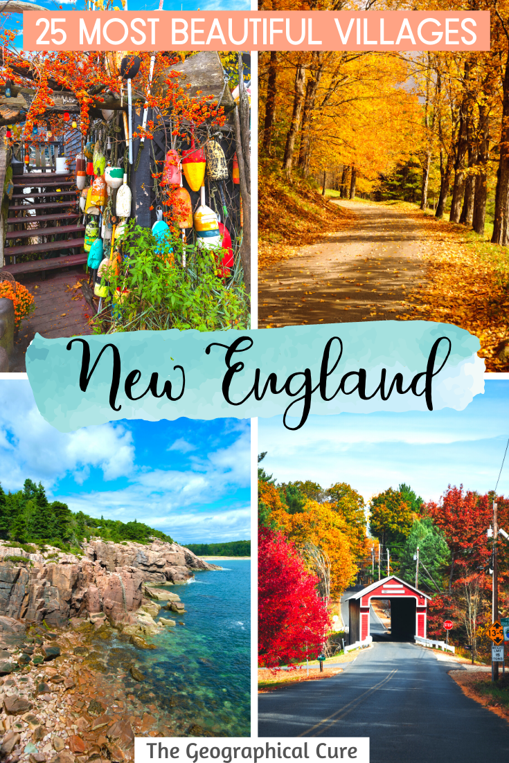 the 25 Most Beautiful Towns and Villages in New England USA