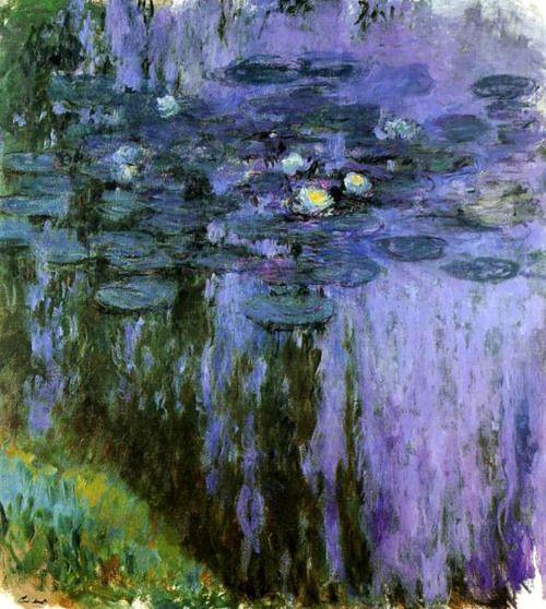 Claud Monet's water lilies