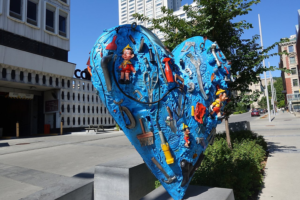 Jim Dine, Heart on Bishop Street