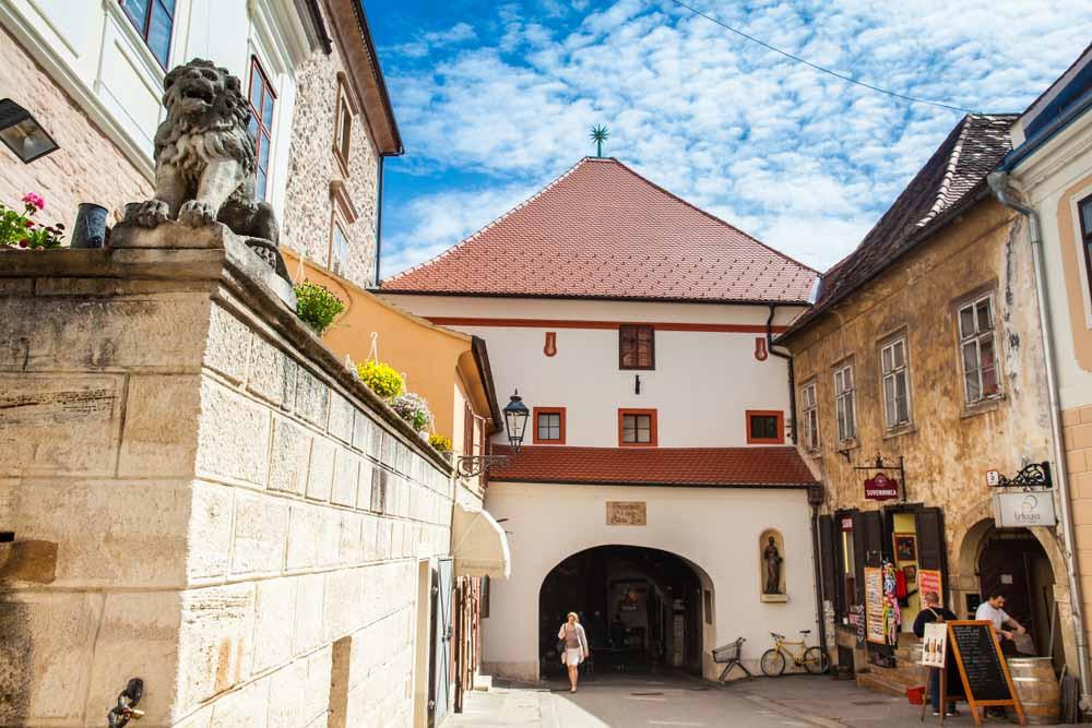 the Stone Gate in Zagreb