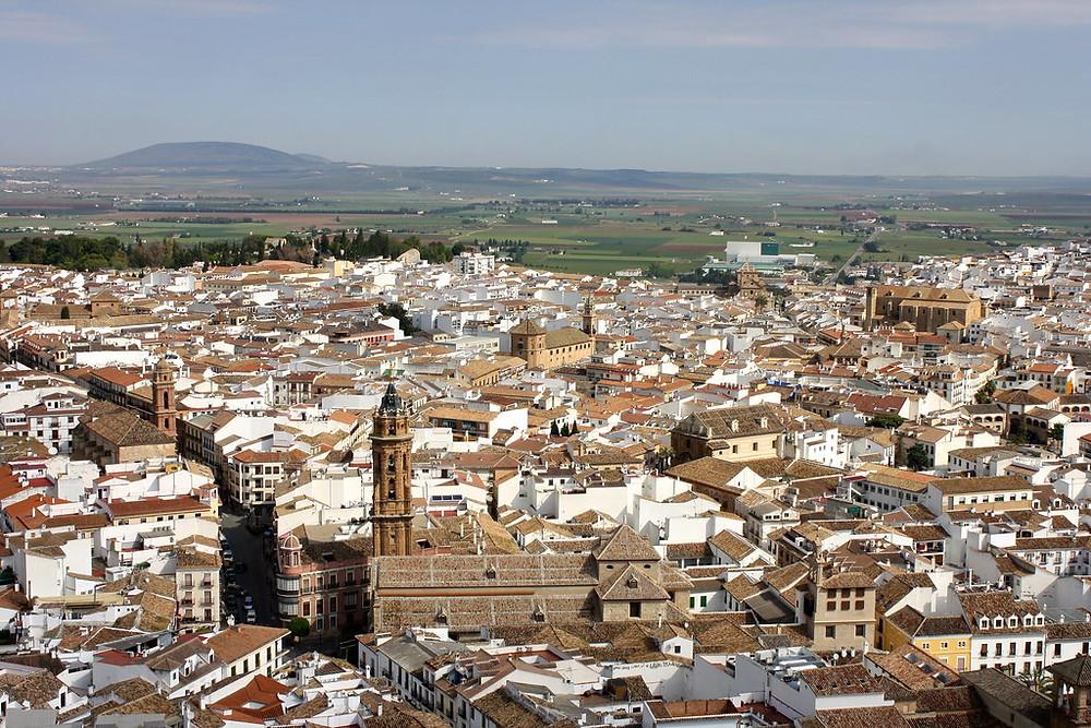 cityscape of Antequera