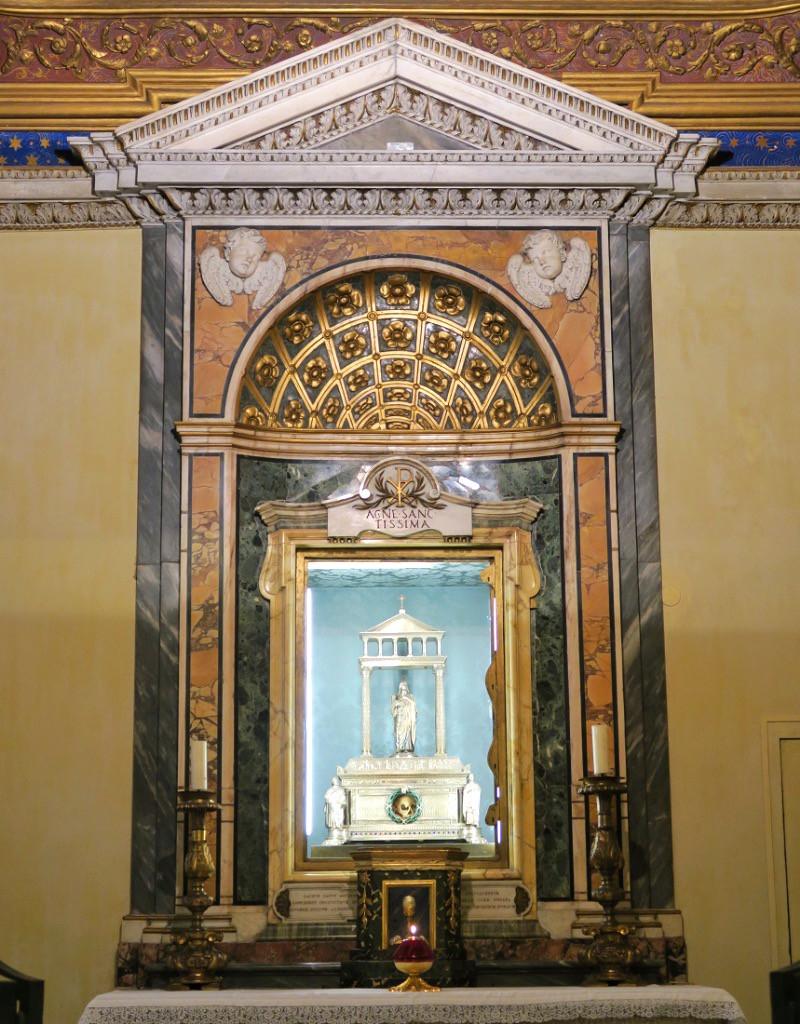 reliquary of St. Agnes