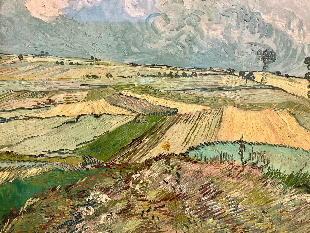 Vincent Van Gogh, Wheat Fields After the Rain, 1890