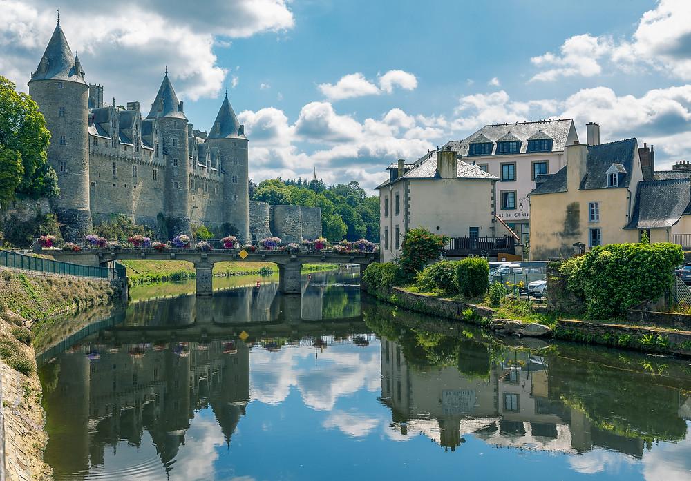 Chateau Josselin in Josselin Brittany