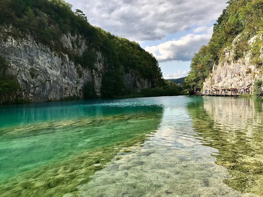 beautiful lake in Plitvice Lakes National Park