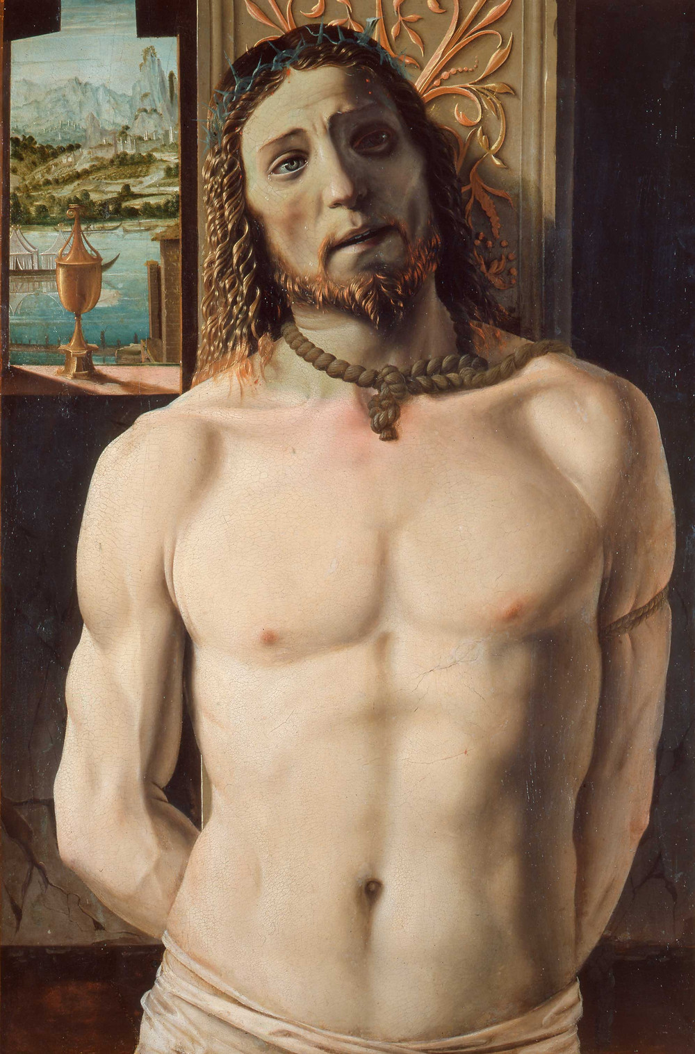 Bramante, Christ Tied To the Column, 1490-49