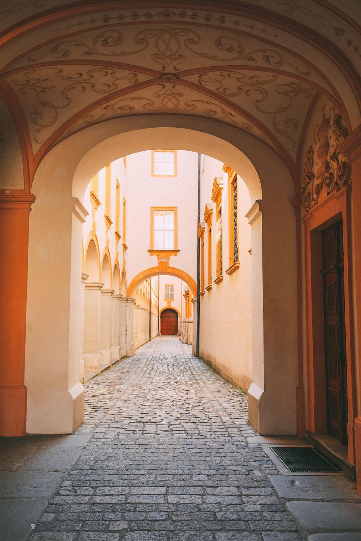 hallway in Melk Abbey