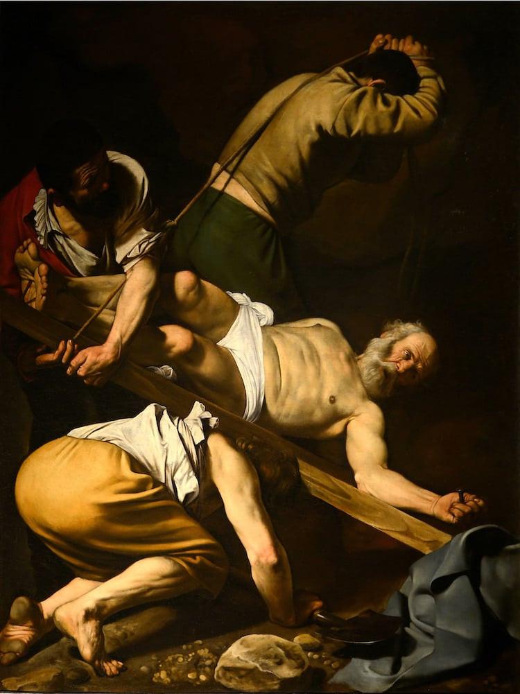 Caravaggio, Crucifixion of St Peter, 1600-1601