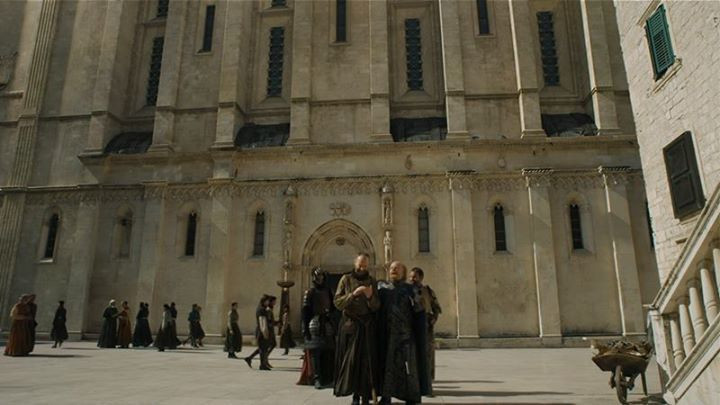 St. james Cathedral stars as the Iron Bank of Braavos in Season 5 of Game of Thrones