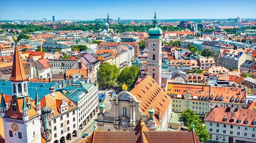 Munich Germany cityscape