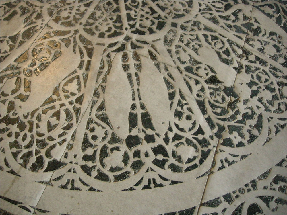 zodiac floor in San Miniato al Monte