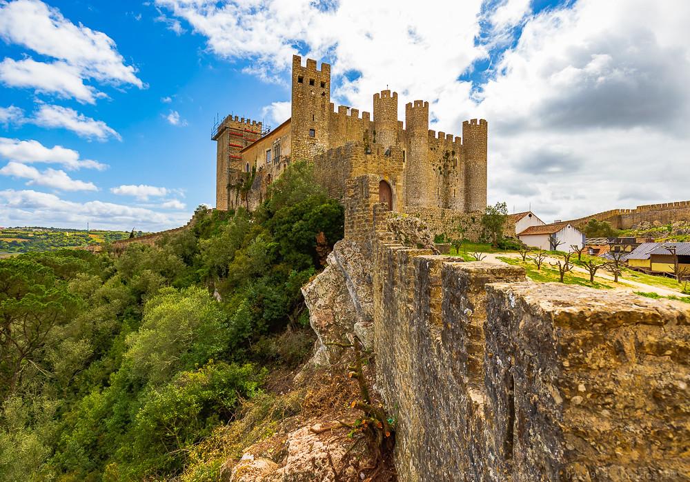Óbidos Castle, now a luxury pousada