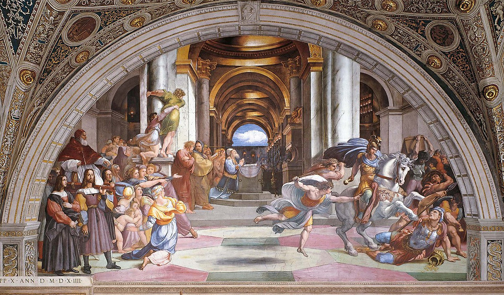 Raphael, The Expulsion of Heliodorus, 1511-12