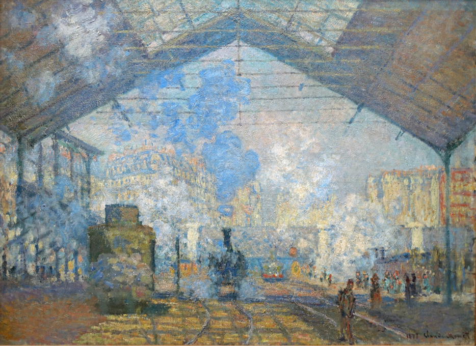 Monet Gare Saint-Lazare, 1877