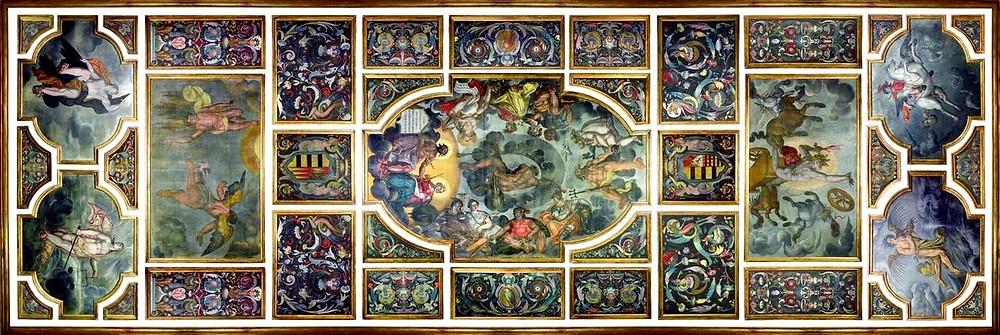 the Pacheco ceiling. image source: rtoftheroom.com