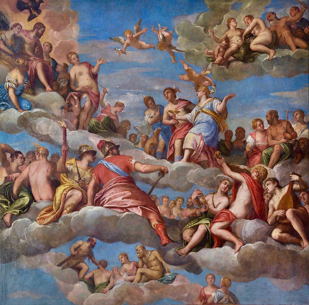 Paolo Veronese, The Coronation of Hebe, 1580-89