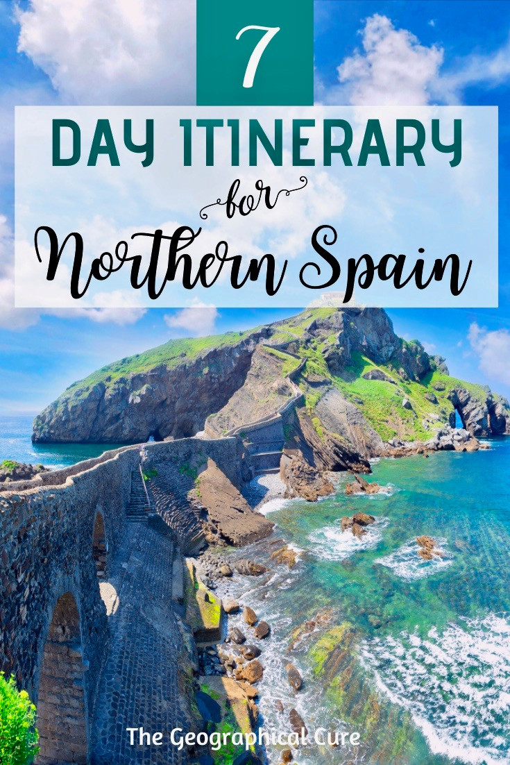 7 day itinerary for northern Spain