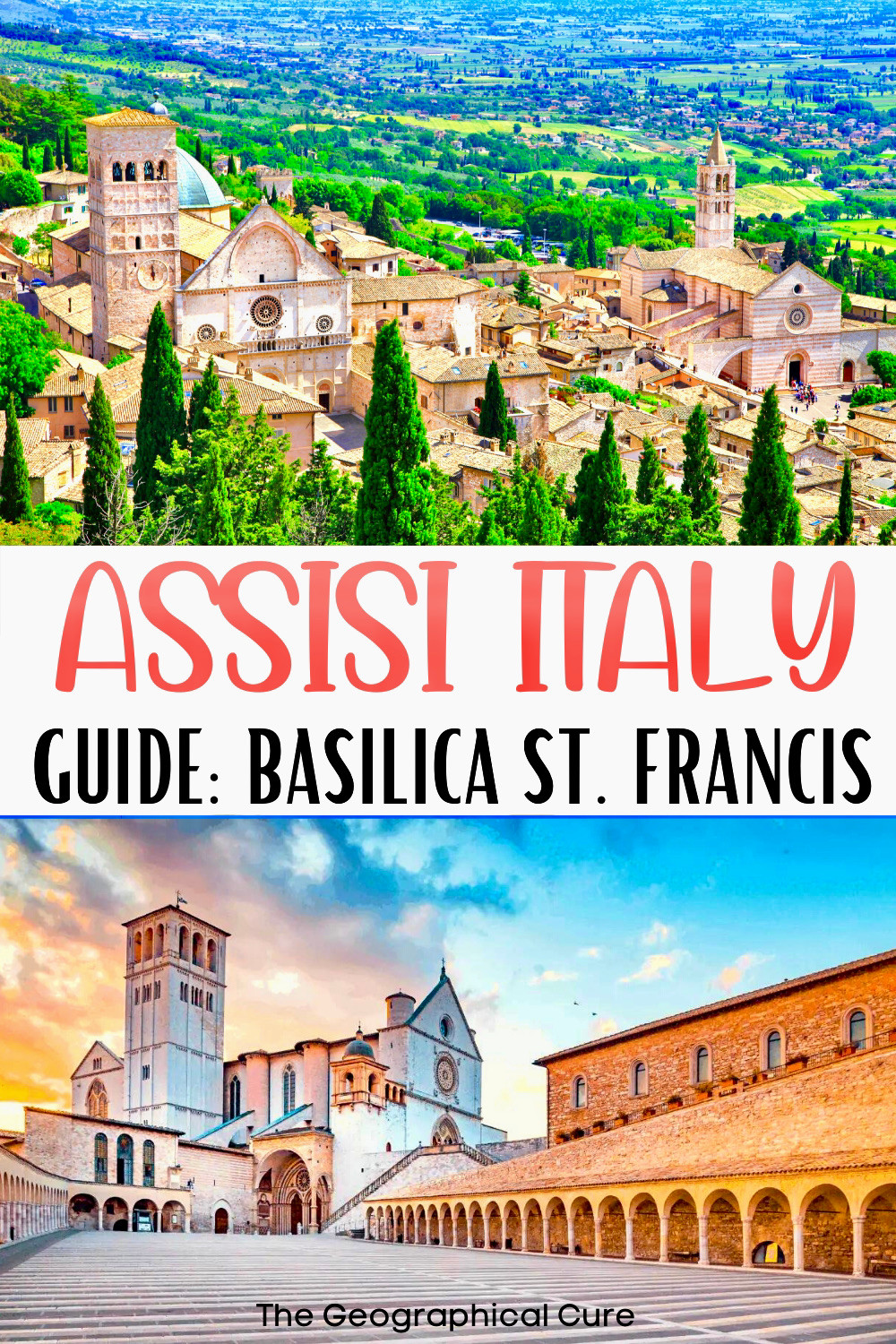 what to see inside the Basilica of St. Francis in Assisi