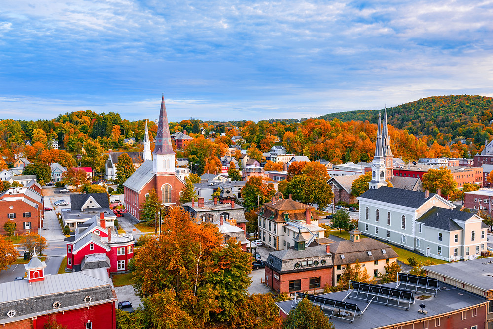 Montpelier, Vermont's beautiful capital city