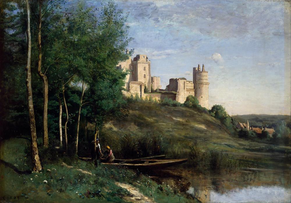 Jean-Baptiste Camille Corot, Chateau de Pierrefonds