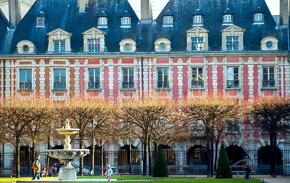 location of the Victor Hugo Museum on Place des Vosges
