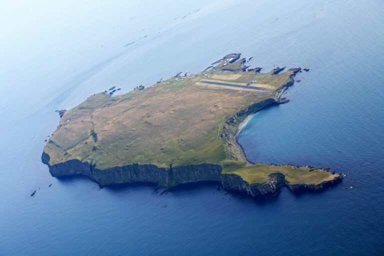Iceland's Grímsey Island in the Arctic Circle
