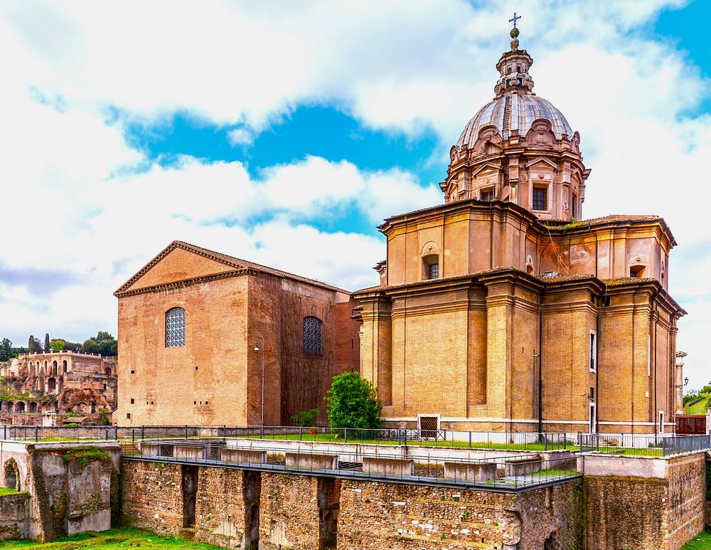 Curia Julia, where the Senate promulgated laws