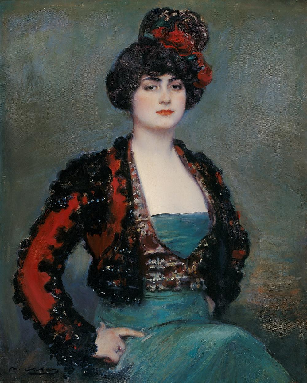 Ramon Casa Carbo, Julia, 1915