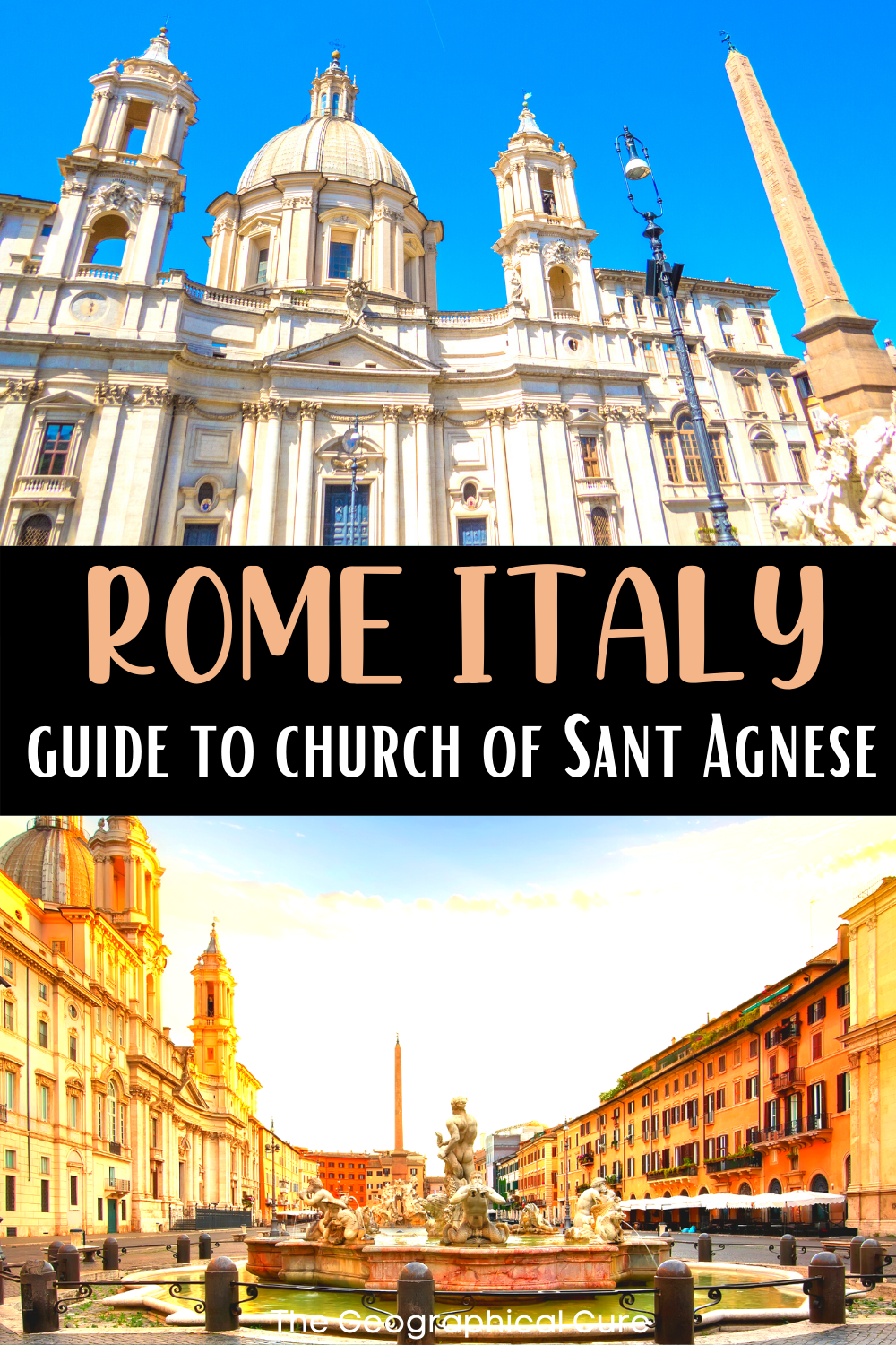 guide to the Church of Sant'Agnese, a Baroque masterpiece in Rome Italy