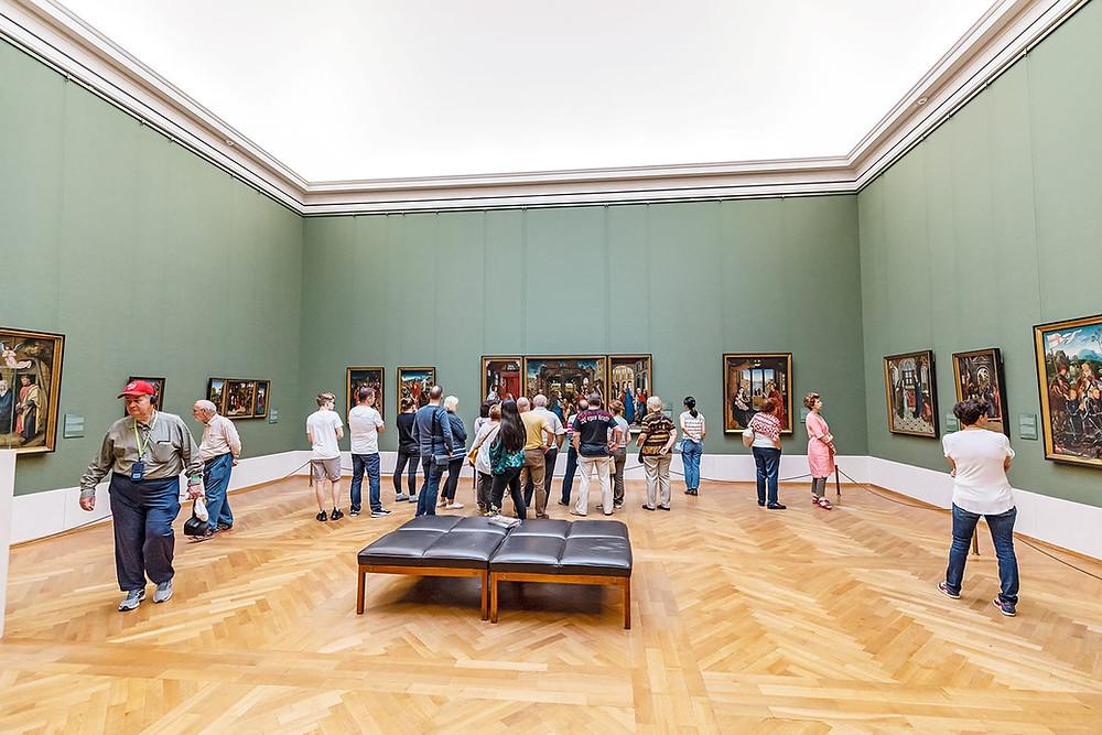 gallery in the Alte Pinakothek